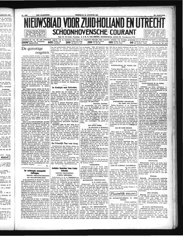 Schoonhovensche Courant 1938-08-24
