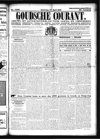 Goudsche Courant 1929-04-27