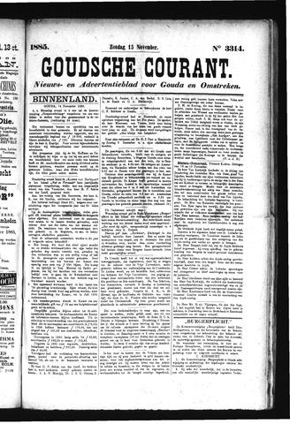 Goudsche Courant 1885-11-15