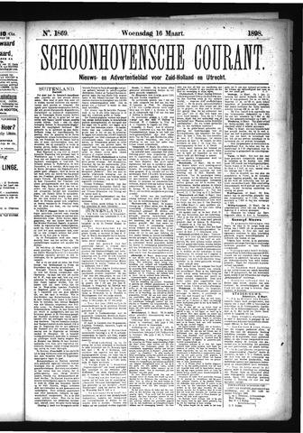 Schoonhovensche Courant 1898-03-16