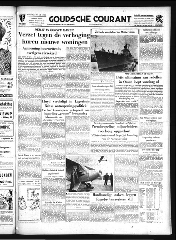 Goudsche Courant 1957-07-24