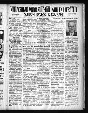 Schoonhovensche Courant 1948-02-25