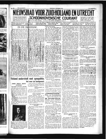 Schoonhovensche Courant 1939-12-06