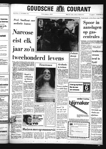 Goudsche Courant 1972-11-27