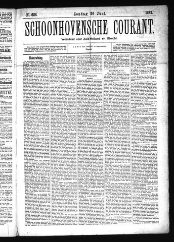 Schoonhovensche Courant 1881-06-26