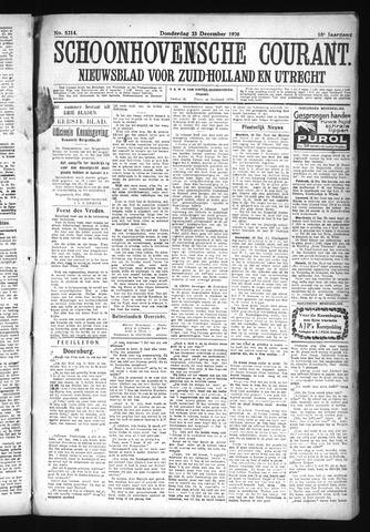 Schoonhovensche Courant 1926-12-23