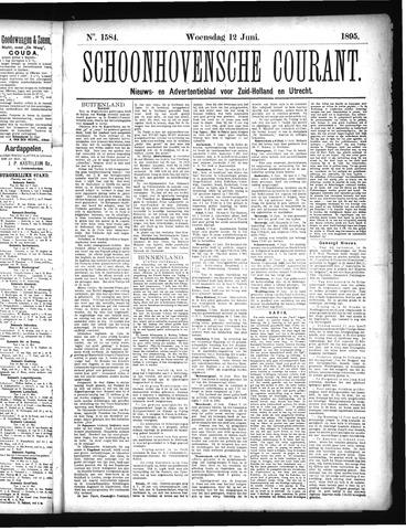 Schoonhovensche Courant 1895-06-12
