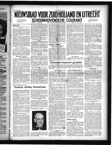 Schoonhovensche Courant 1948-06-21