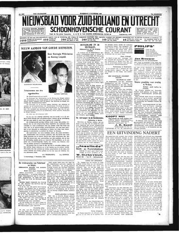 Schoonhovensche Courant 1939-11-08