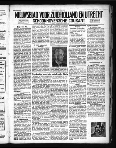 Schoonhovensche Courant 1948-01-12