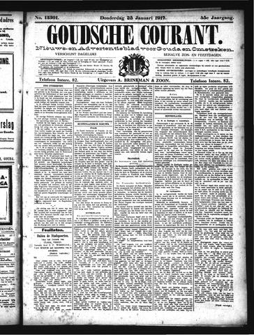 Goudsche Courant 1917-01-25