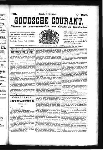 Goudsche Courant 1891-11-09