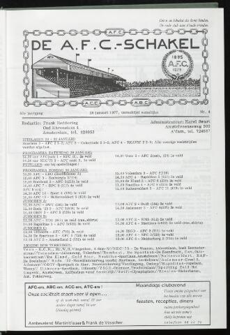 Schakels (clubbladen) 1977-01-26