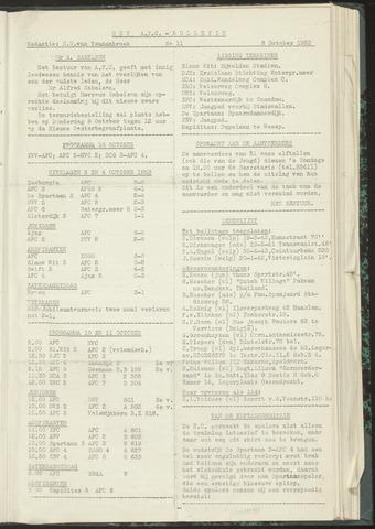 Bulletins (vnl. opstellingen) 1953-10-06