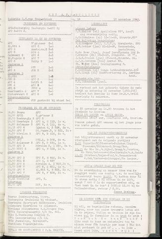 Bulletins (vnl. opstellingen) 1959-11-17