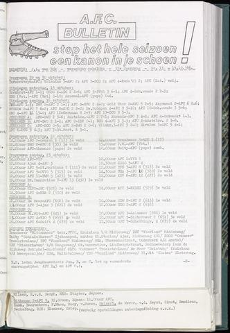 Bulletins (vnl. opstellingen) 1966-10-19