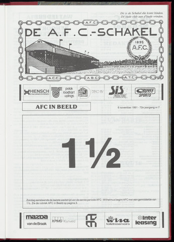 Schakels (clubbladen) 1991-11-06