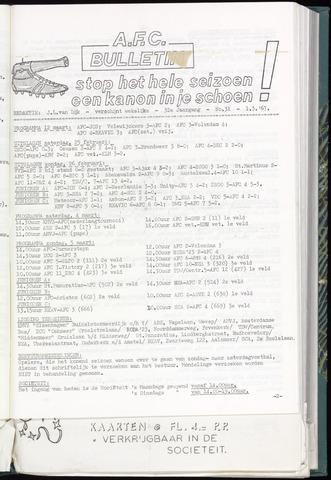 Bulletins (vnl. opstellingen) 1967-03-01