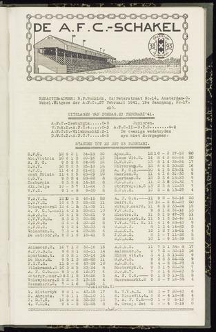 Schakels (clubbladen) 1941-01-27