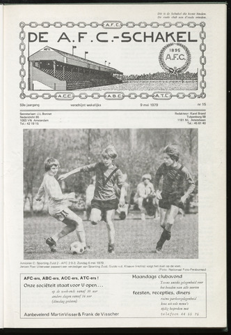 Schakels (clubbladen) 1979-05-09