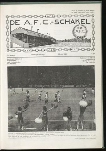 Schakels (clubbladen) 1981-05-20