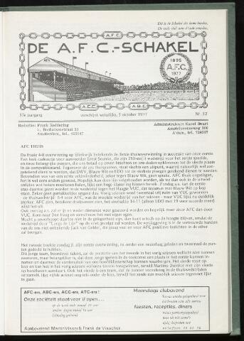 Schakels (clubbladen) 1977-10-05
