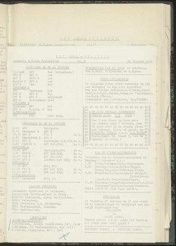 Bulletins (vnl. opstellingen) 1954-10-26