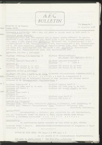 Bulletins (vnl. opstellingen) 1973-08-29