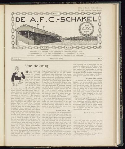 Schakels (clubbladen) 1959-12-01