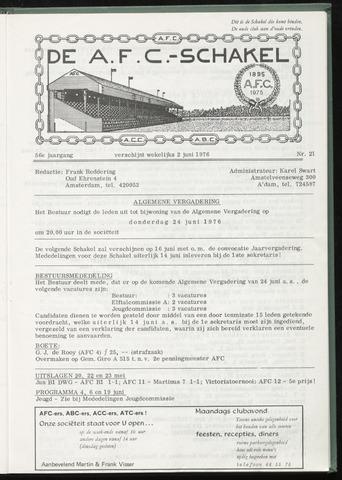 Schakels (clubbladen) 1976-06-02
