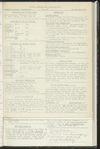 Bulletins (vnl. opstellingen) 1956-10-16