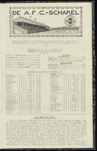 Schakels (clubbladen) 1937-10-07