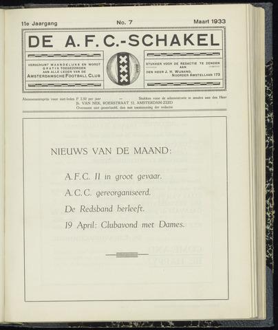 Schakels (clubbladen) 1933-03-01