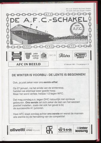 Schakels (clubbladen) 1991-02-27