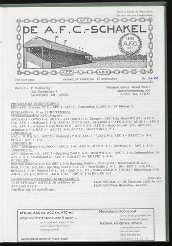 Schakels (clubbladen) 1976-09-15