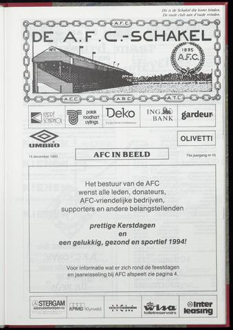 Schakels (clubbladen) 1993-12-15