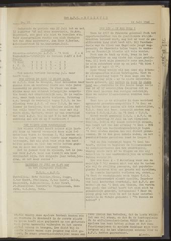 Bulletins (vnl. opstellingen) 1946-07-18