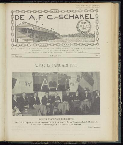 Schakels (clubbladen) 1955-02-01