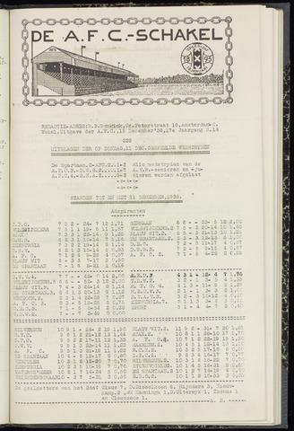 Schakels (clubbladen) 1938-12-15
