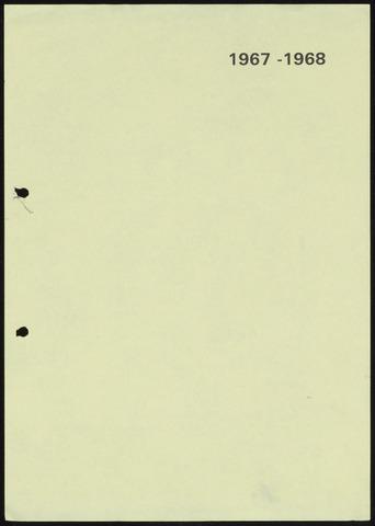 Jaarverslagen 1968-06-01