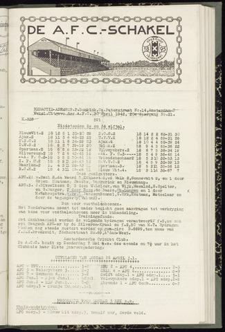 Schakels (clubbladen) 1942-04-30