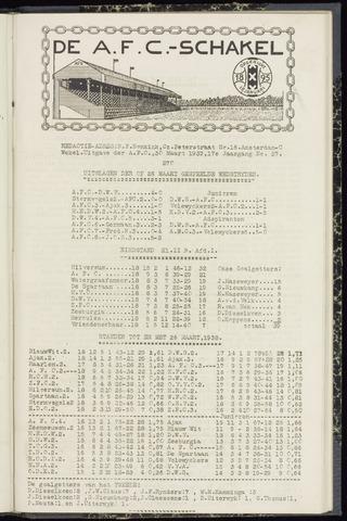 Schakels (clubbladen) 1939-03-30