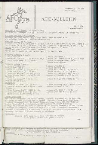 Bulletins (vnl. opstellingen) 1968-02-28