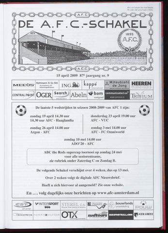 Schakels (clubbladen) 2009-04-15