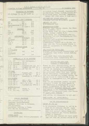 Bulletins (vnl. opstellingen) 1953-11-10