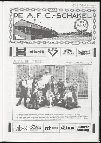 Schakels (clubbladen) 1986-09-10