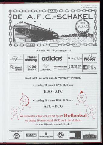 Schakels (clubbladen) 1999-03-17