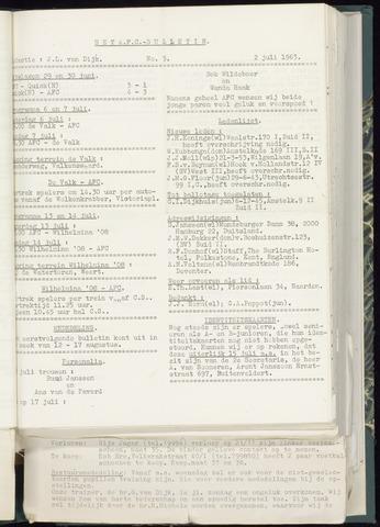 Bulletins (vnl. opstellingen) 1963-06-26