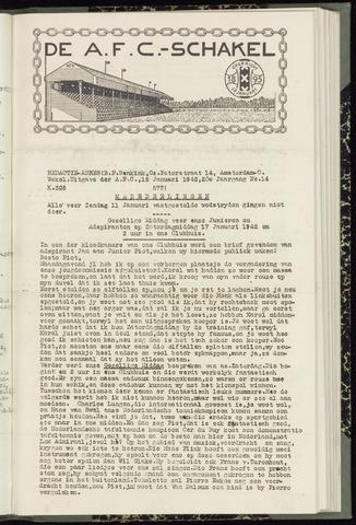 Schakels (clubbladen) 1942-01-15