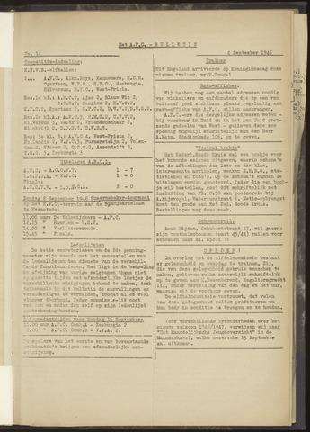 Bulletins (vnl. opstellingen) 1946-09-04
